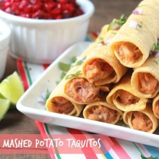Turkey Mashed Potato Taquitos