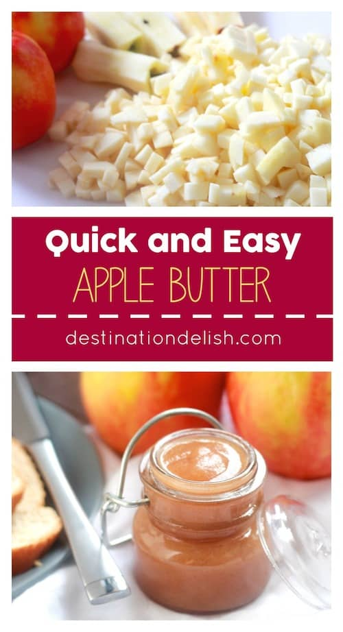 Quick and Easy Apple Butter