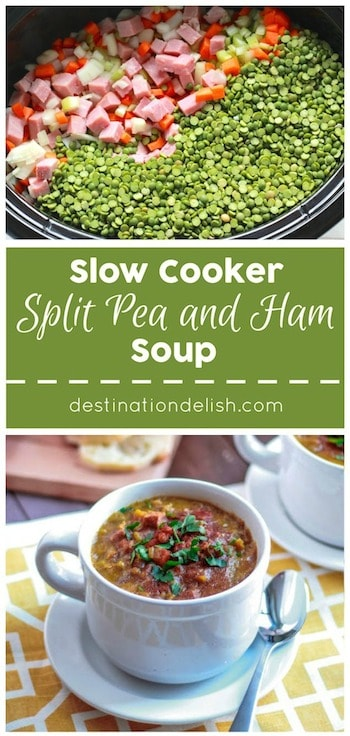 Slow Cooker Split Pea Soup | Destination Delish