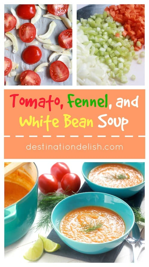 Tomato, Fennel, and White Bean Soup