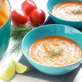 Tomato, Fennel, and White Bean Soup