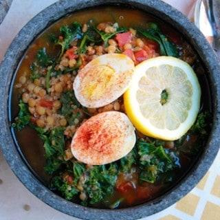 Lentil, Quinoa, and Kale Soup