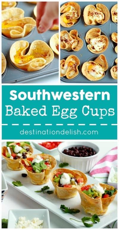 Southwestern Baked Egg Cups