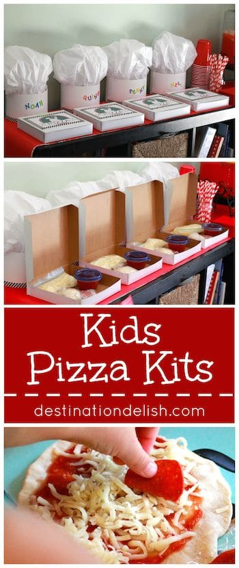 Kids Pizza Kits