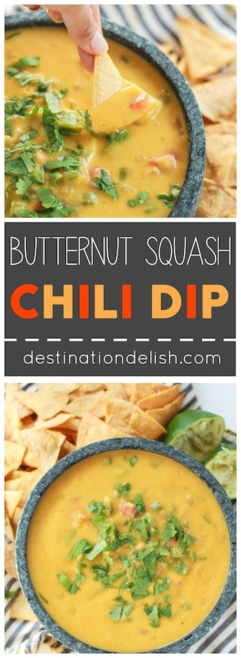 Butternut Squash Chili Dip | Destination Delish