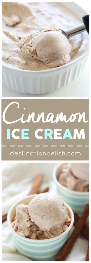Cinnamon Ice Cream | Destination Delish