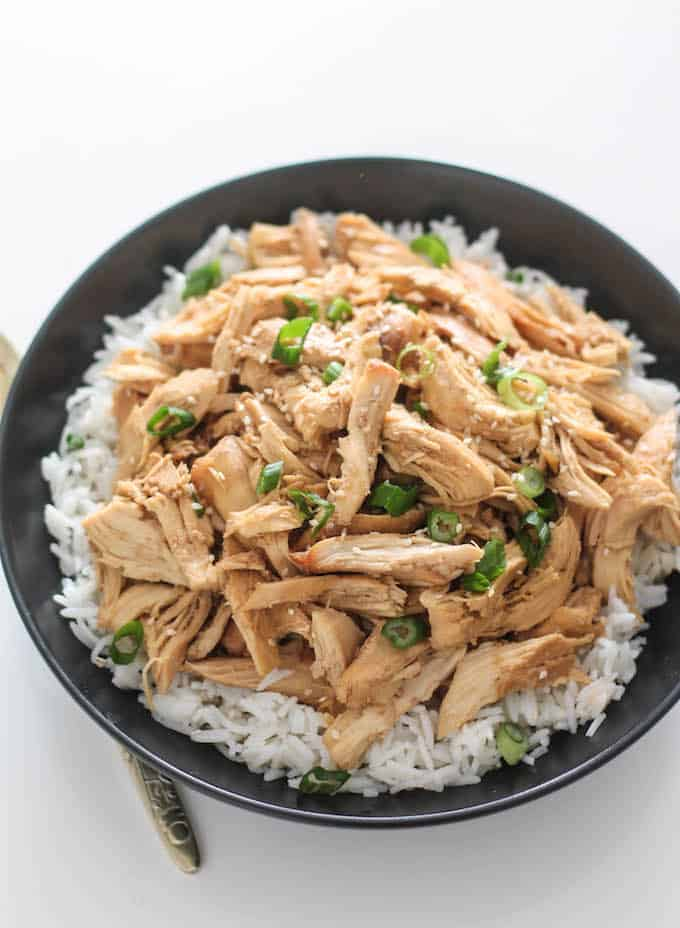 Slow Cooker Korean Pulled Chicken Destination Delish