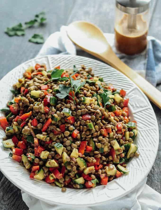 Lentil Salad Recipe | Hearty Healthy Salad Recipes To Fill The Void