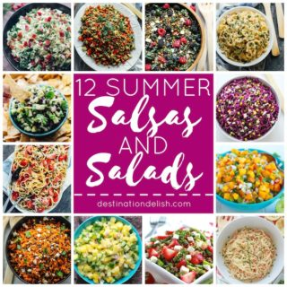 12 Summer Salsas and Salads
